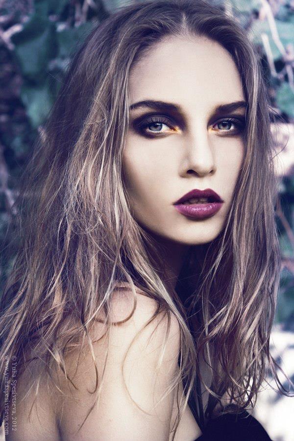 Gorgeous Burgundy Lips