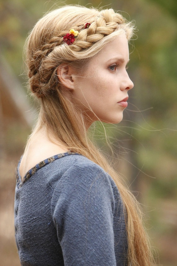 Hairstyles for Everyday: Half Updo Braid Hair - Pretty Designs