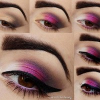 Graduated Purple Eye Makeup Tutorial