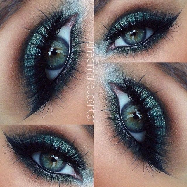 14 Overwhelming Smokey Eye Makeup Looks and Tutorials - Pretty Designs