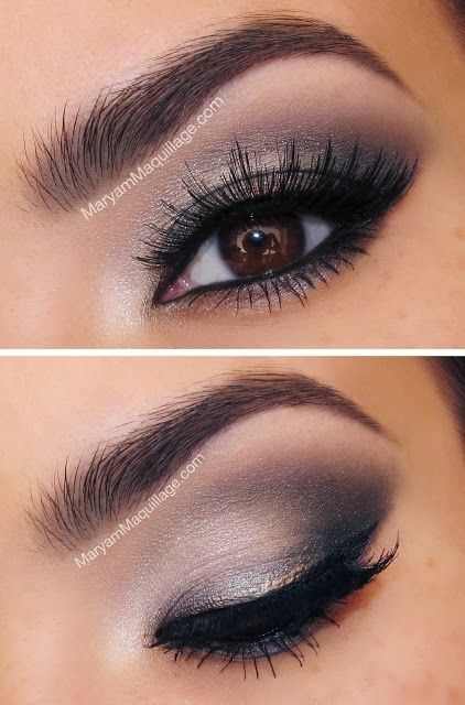 12 Alluring Grey Smokey Eye Makeup Looks - Pretty Designs