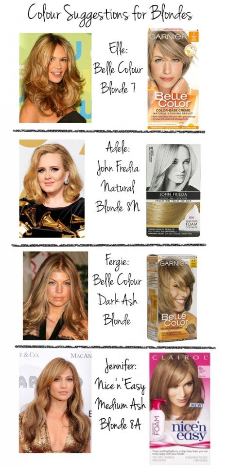 Hair Color Suggestions