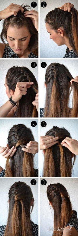 Brilliant 14 Simple Hairstyle Tutorials For Summer Pretty Designs Hairstyles For Women Draintrainus