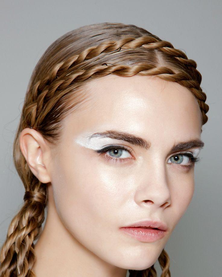 Headband Braided Hairstyle