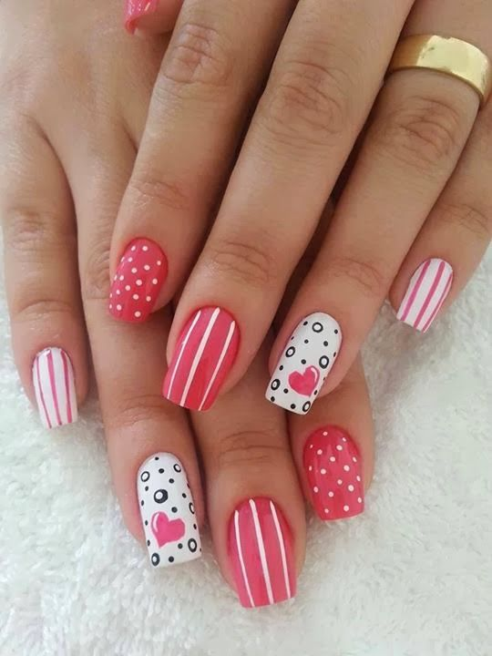 14 Lovely Nail Designs For Your Kids Birthday Party Pretty Designs