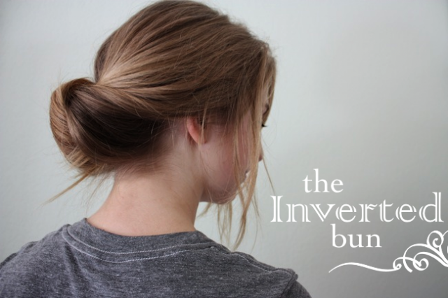 Inverted Bun Hairstyle Tutorial