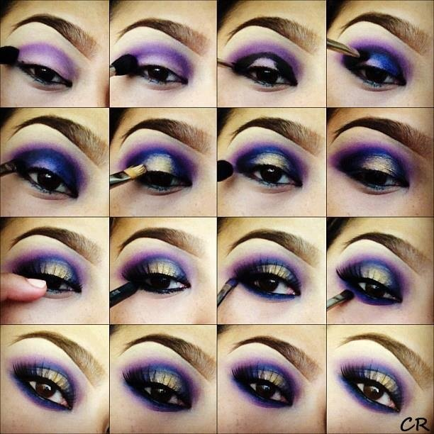 Jewel Tone Eye Makeup Tutorial