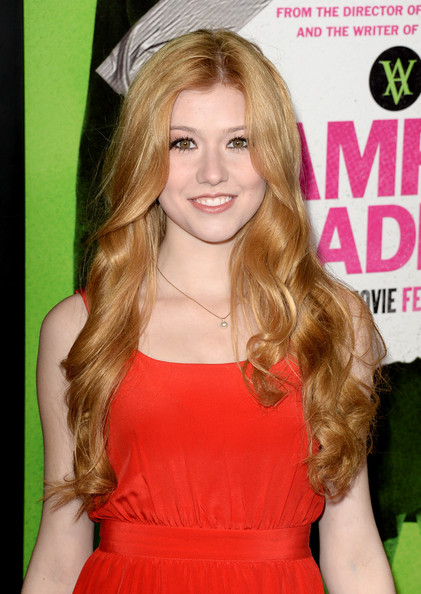 Katherine McNamara Long Curls