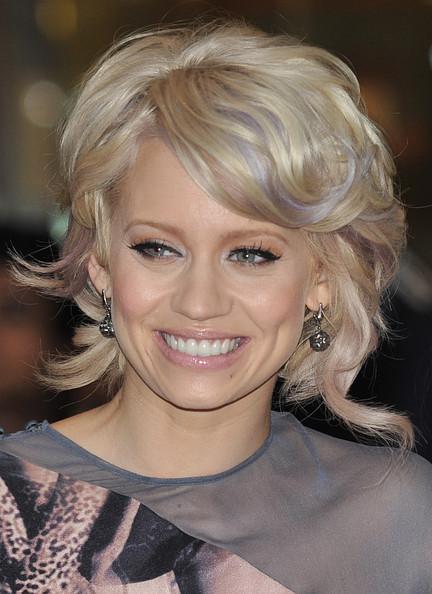Kimberley Wyatt Short Curls