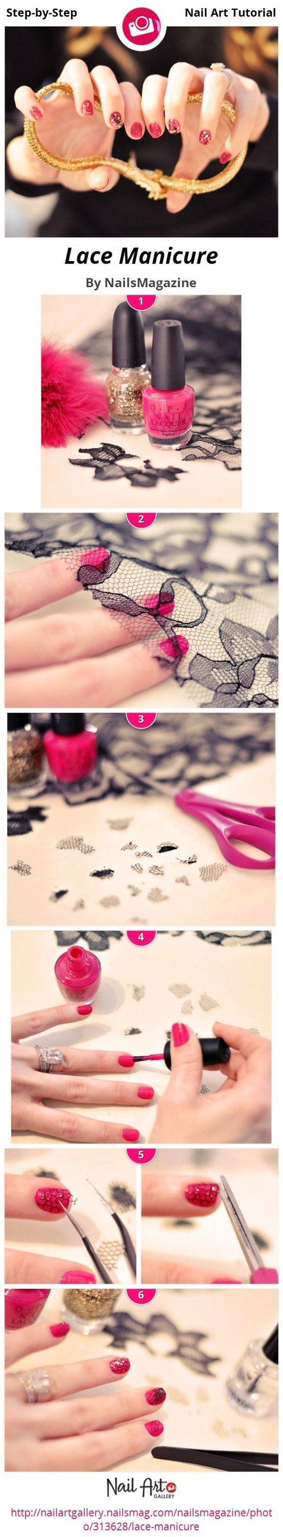 10 eenvoudige stap voor stap Nail Art-zelfstudies