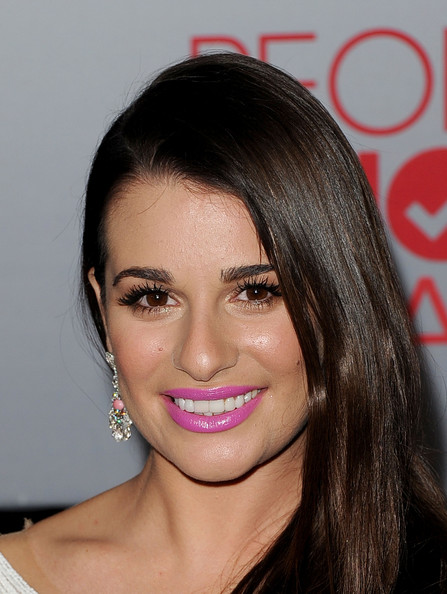 Lea Michele's Berry Lips