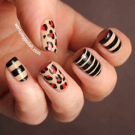 17 Fabulous Striped Nail Art Ideas Pretty Designs