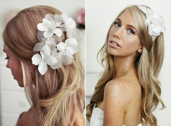 Long Curls for Wedding