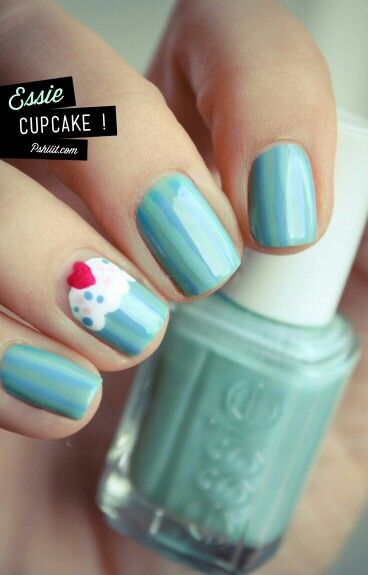 Lovely Cupcake Nails