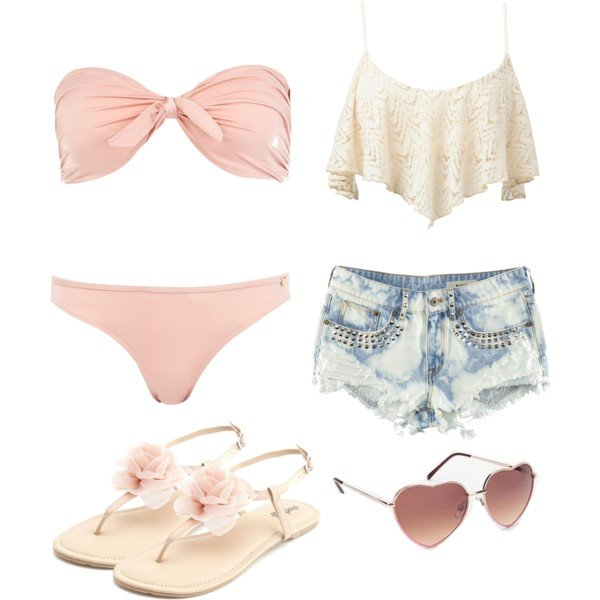 Fabulous Polyvore Combinations for Your Beach Time - Pretty Designs