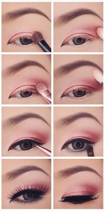 Lovely Pink Eye Makeup