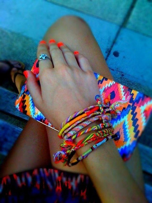 Multiple Bracelets for Summer