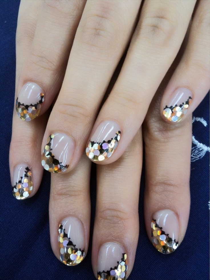 Nails with Sequins