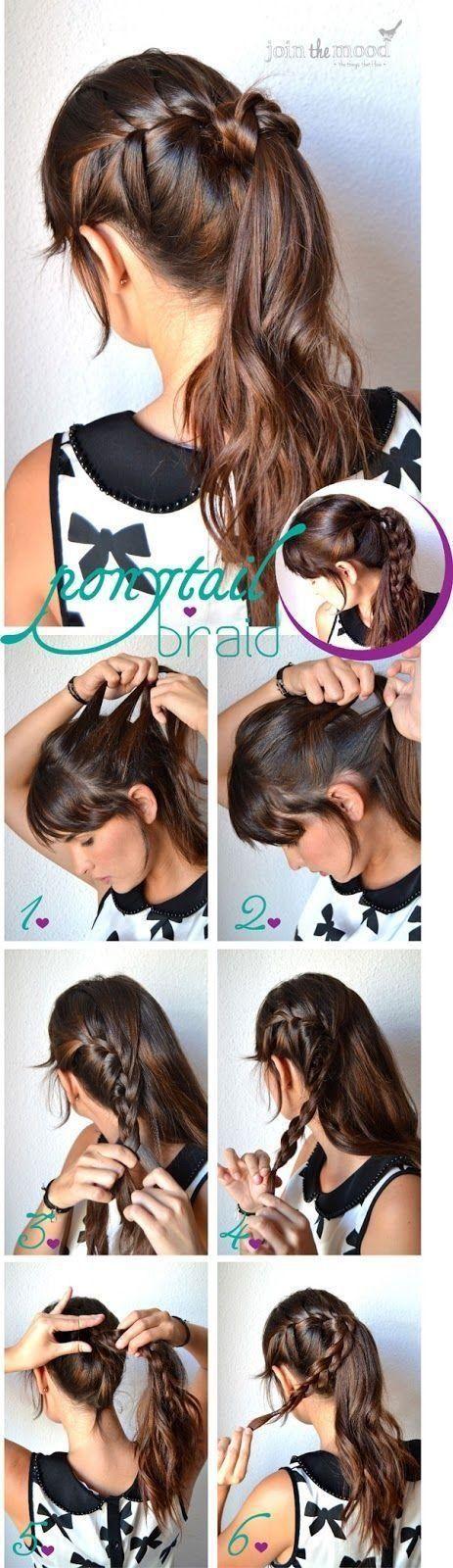 Natural Braided Ponytail