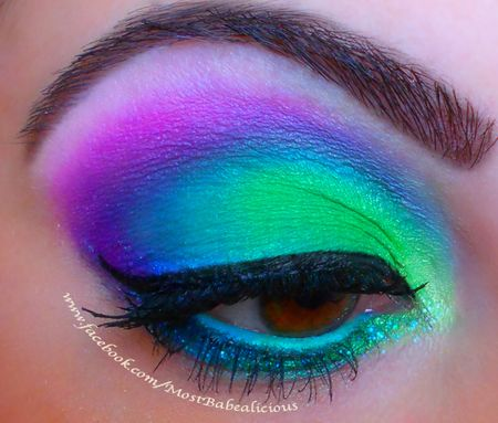 17 fabulous neon eye makeup ideas for women  pretty designs