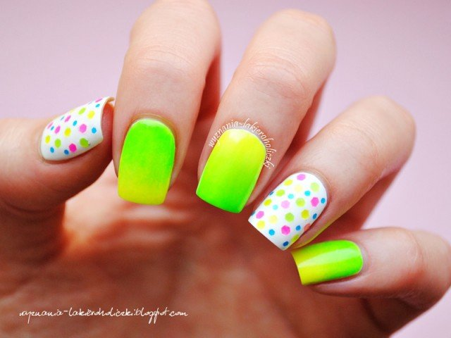 Chic Neon Nail Arts for Everyday - Pretty Designs