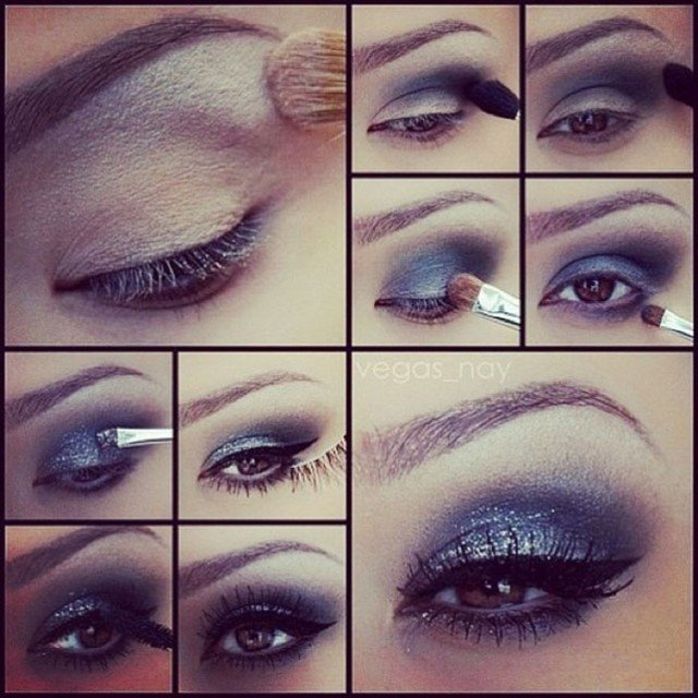 Night Smoky Eye Makeup Tutorial