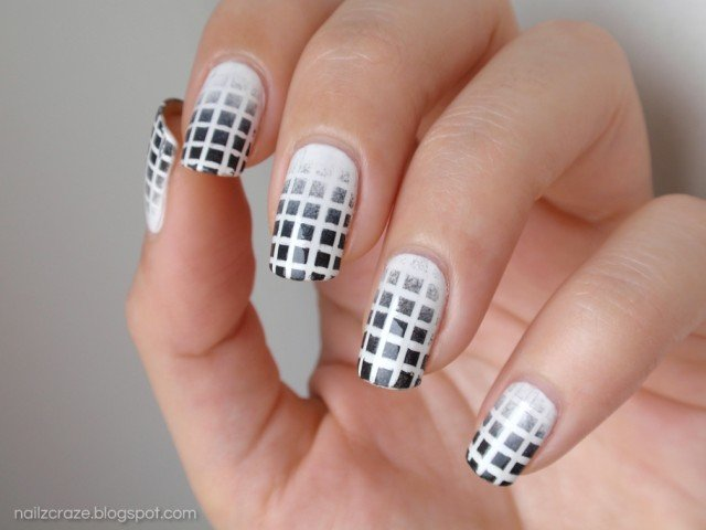 Black and White Nails for Beginners - Pretty Designs