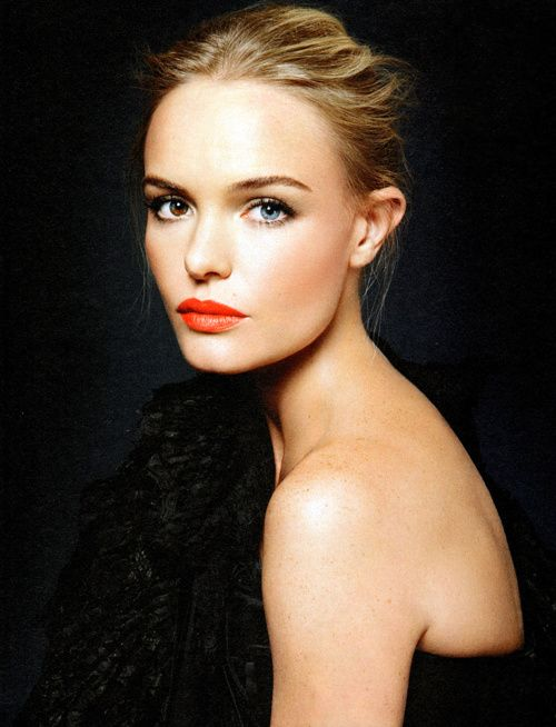 Orange Lips - Kate Bosworth