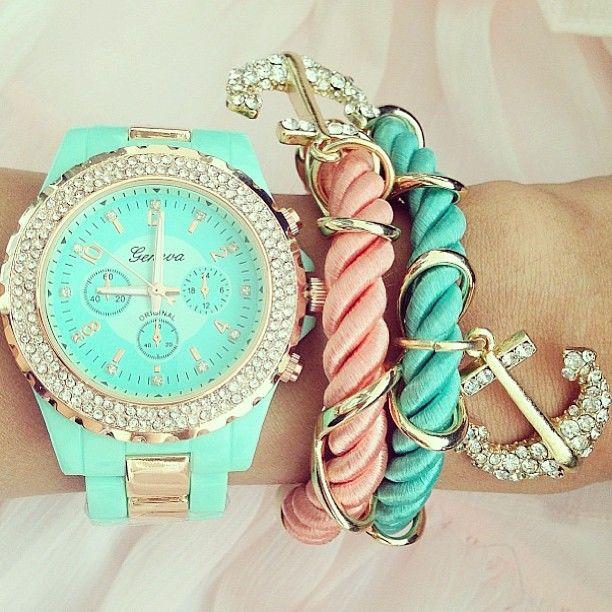 Pastel Multiple Bracelets