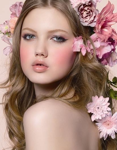 Pink Blush and Lips