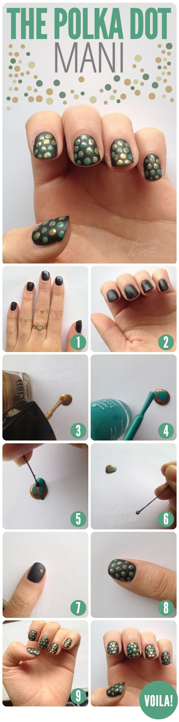 10 Easy Step By Step Nail Art Tutorials For 2017 Pretty Designs