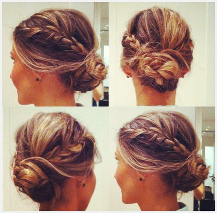 Hair To Try Braided Bun Hairstyles Pretty Designs