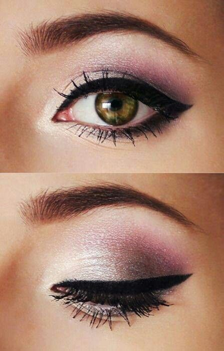 Pretty Pink Smokey Eye Makeup Look