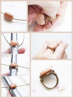 Pretty Stone Ring