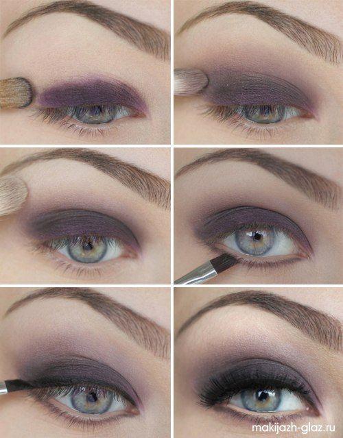 12 Alluring Grey Smokey Eye Makeup Looks - Pretty Designs