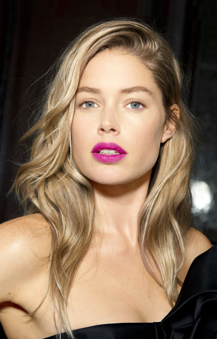 Purple Lips Makeup Look