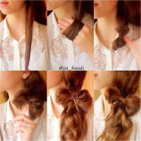 Romantic Hair Bow Tutorial