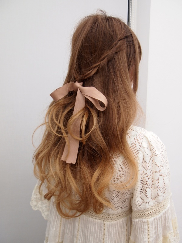 Romantic Loose Braided Hairstyle