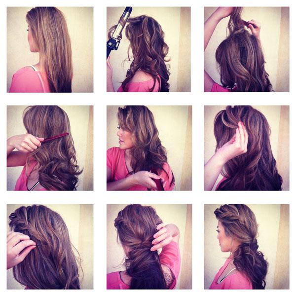 Romantic Ponytail Hairstyle Tutorial