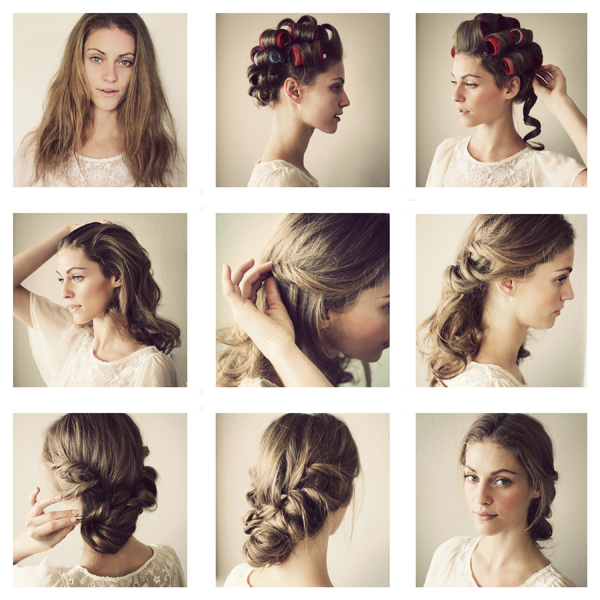Romantic Twisted Hairstyle Tutorial