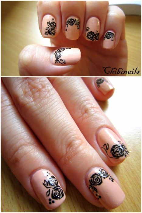 Nail Art To Try Nude Nails Pretty Designs