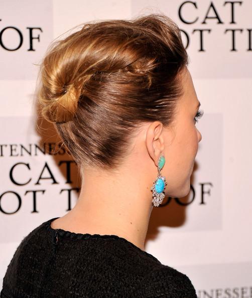 Scarlett Johansson French Twist/Getty Images
