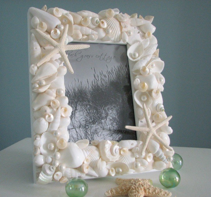 easy diy projects diy seashell ideas pretty designs. Black Bedroom Furniture Sets. Home Design Ideas
