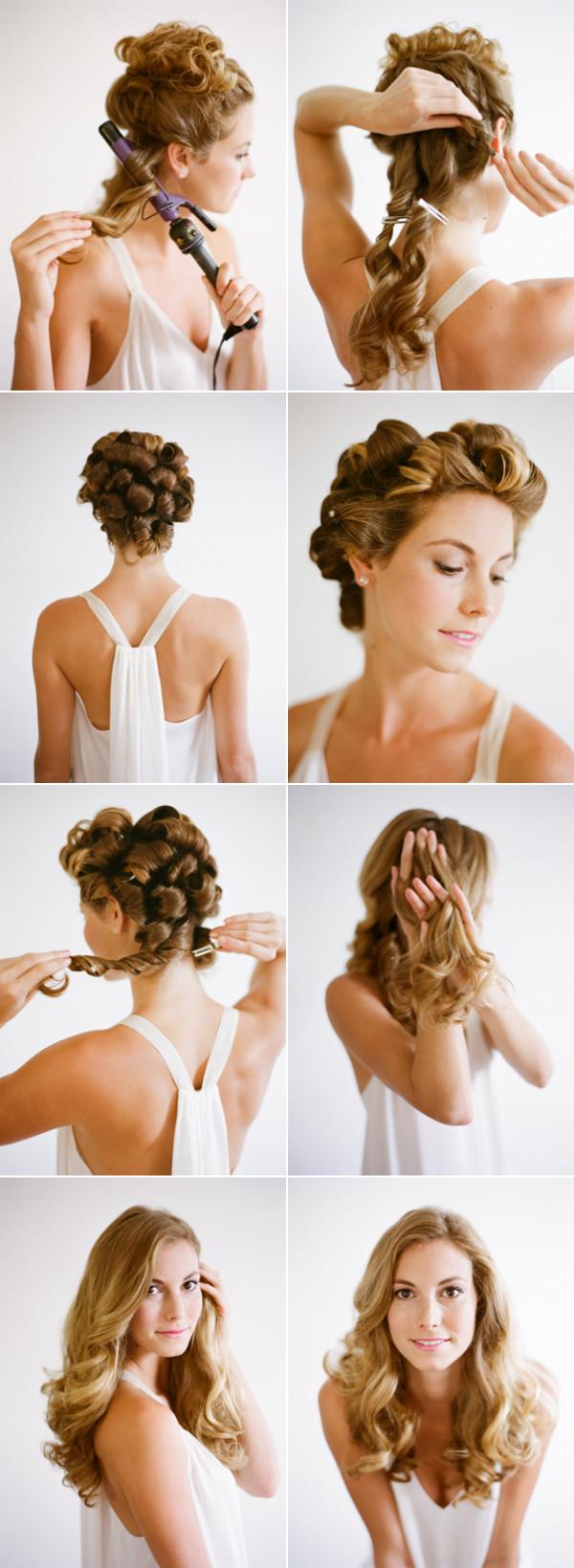 12 Fantastic Hairstyle Tutorials for Ladies - Pretty Designs
