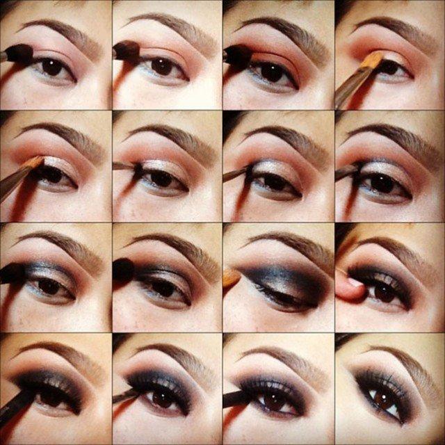 how to apply eye makeup professionally | Cosmetics Pictranslator