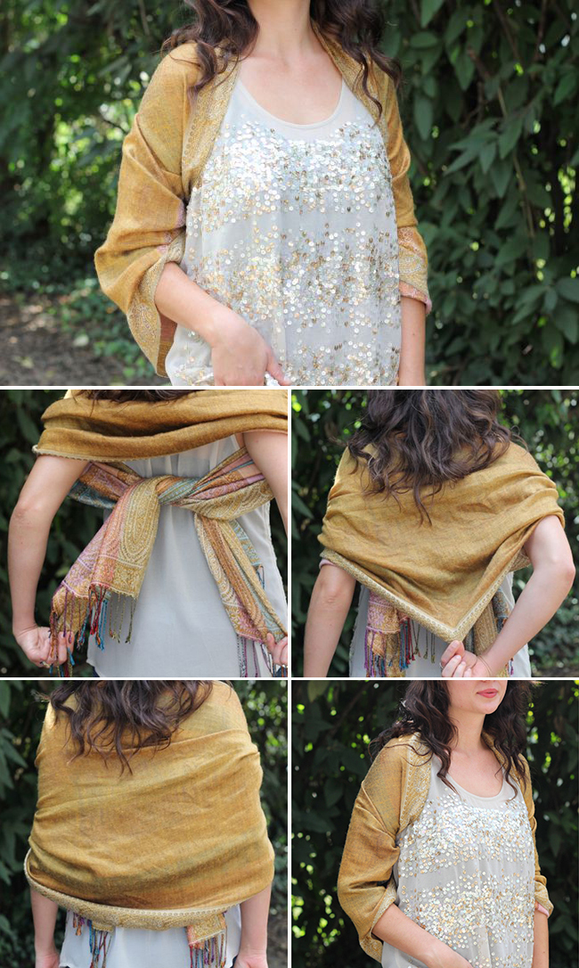 How To Tie A Scarf For Your Look Pretty Designs