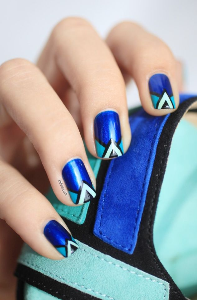 Great Shoes Inspired Nail Art Designs Pretty Designs