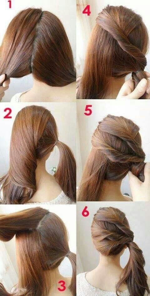 Easy Step By Step Hair Tutorials For Beginners Pretty