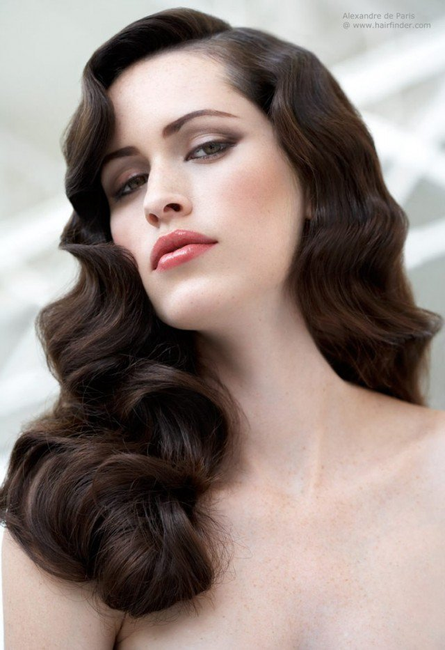 30s style hair it style vintage curly hairstyles pretty designs 8609