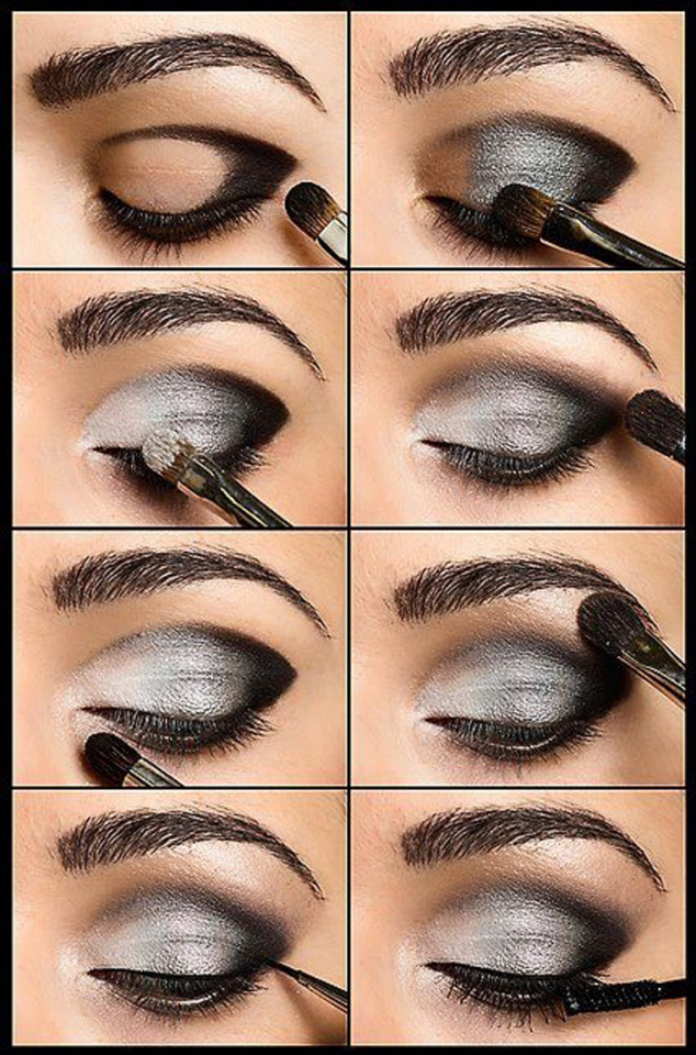 Tutorials For Makeup: Professional & Glamorous Eye Makeup Tutorials